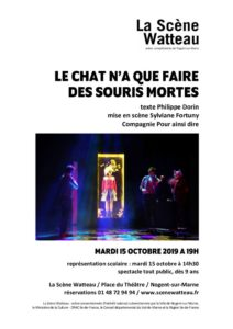 thumbnail of dossier de presse LE CHAT N'A QUE FAIRE DES SOURIS MORTES – 15 octobre 2019